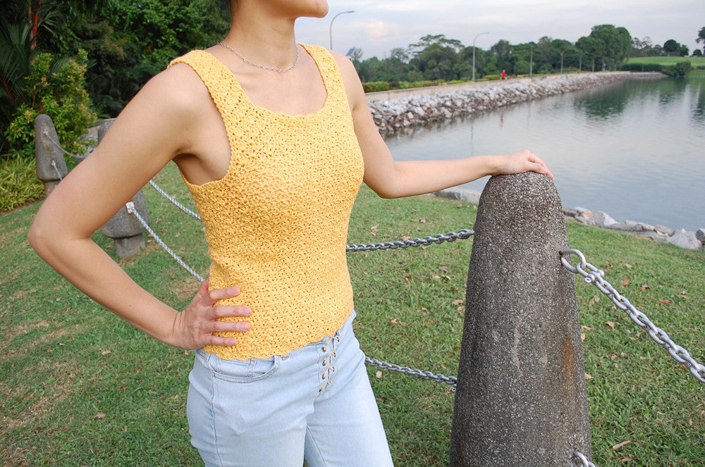 Guided Craft Project-Crochet a Summer Tank Top