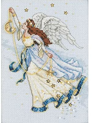 Dimensions The Gold Collection Counted Cross Stitch Kit -Twilight Angel