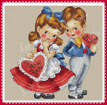 """Be Mine"" Vintage collection Cross Stitch Chart"