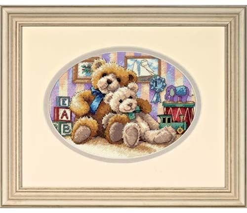 The Gold Collection Counted Cross Stitch Kit -Warm and Fuzzy
