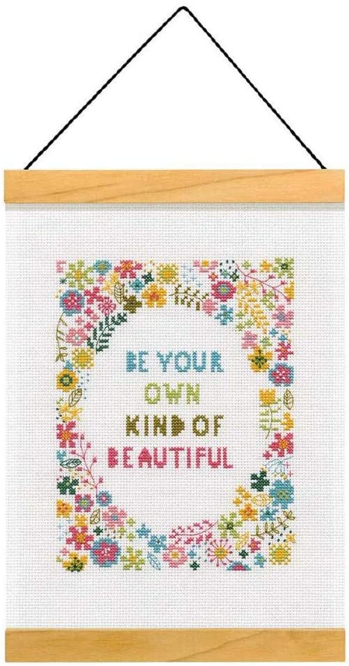 Be your own kind of beautiful Cross Stitch Kit By Dimensions