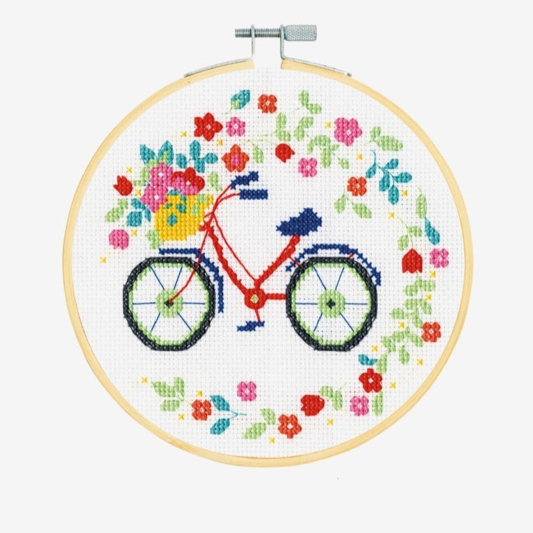 DMC Counted Cross Stitch Kit - Bicycle