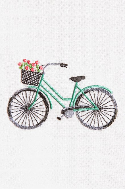 DMC Perle Effect 3D Embroidery Kit -Bicycle