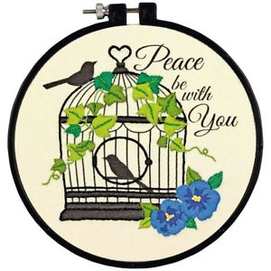 Birdcage Embroidery Kit By Dimensions