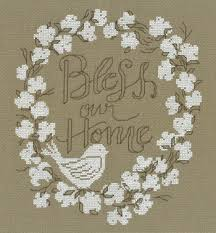 Bless Our Home Cross Stitch Kit
