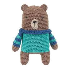 Boris the Bear Crochet kit