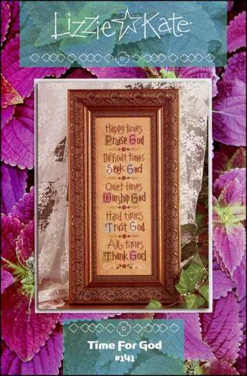 Lizzie*Kate Time for God Cross Stitch Chart