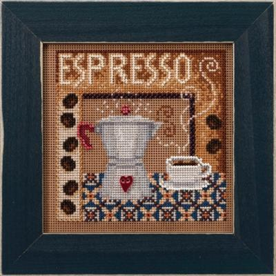 Mill Hill  Espresso Beads and Cross Stitch Kit