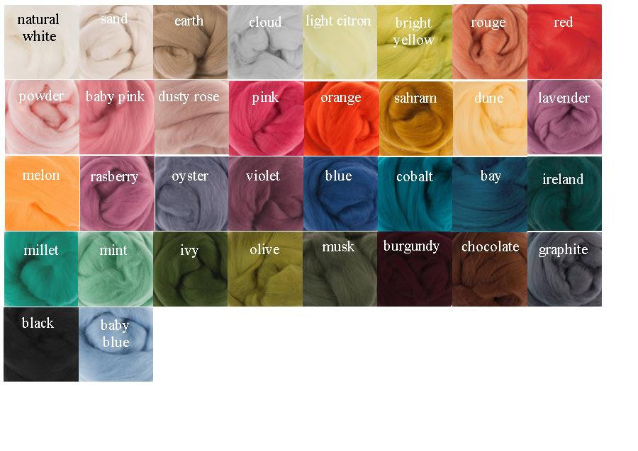 Fat and Fairy Silk-Merino Wool 500g