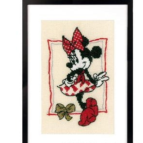 It's About Minnie Cross Stitch Kit
