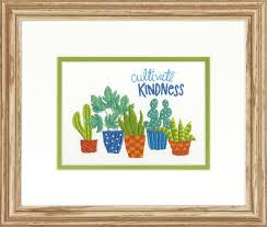 Cultivate Kindness Embroidery Kit By Dimensions