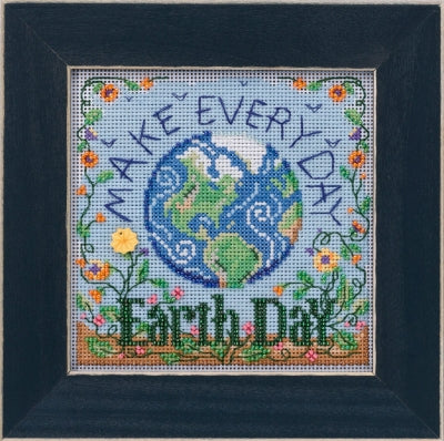 Mill Hill Earth Day Beads and Cross Stitch Kit