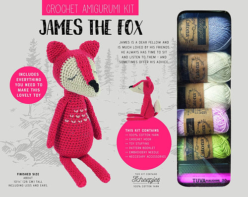 James the Fox Crochet kit