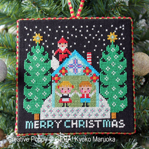 Santa has come by Gera Cross Stitch Chart