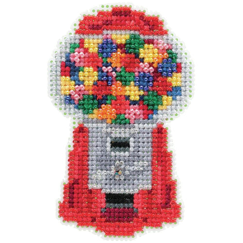 Mill Hill, Gumball Machine Beads and Cross Stitch Kit