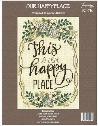 Our Happy Place Cross Stitch Kit