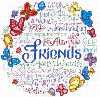 Happy Together Cross Stitch Chart