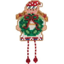 Mill Hill, Holli Elf Beads and Cross Stitch Kit