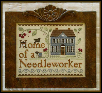 Home of a Needleworker (too) Cross Stitch Chart