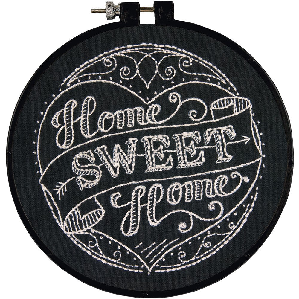 Home Sweet Home Embroidery By Dimensions