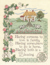 House Blessing Cross Stitch Chart