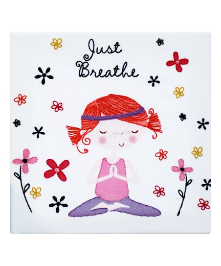 Just Breathe Embroidery Kit