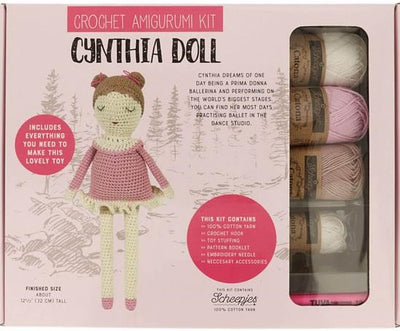Cynthia Doll Crochet kit