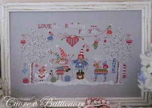 100% Pure Amore Cross Stitch Chart