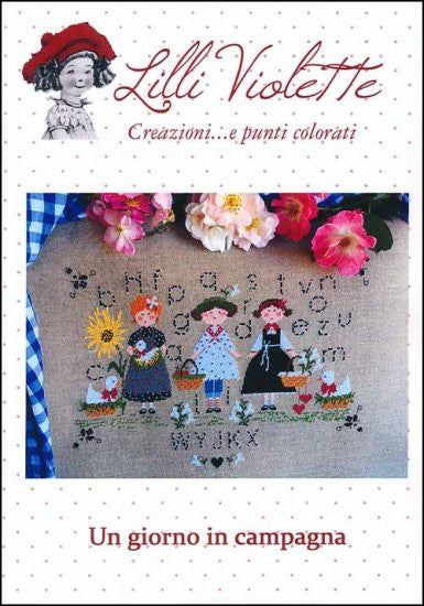 Lilli Violette A Day In The Country Cross Stitch Chart
