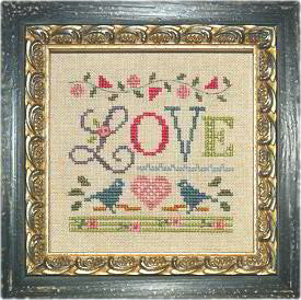 Lizzie*Kate A Little Love Cross Stitch Kit