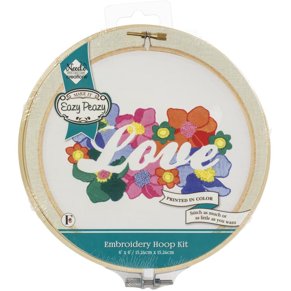 Love Embroidery Kit