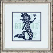 Mermaid Song Cross Stitch Kit By Dimensions