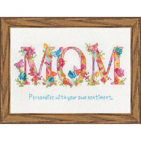 Mom Cross Stitch Kit By Dimensions