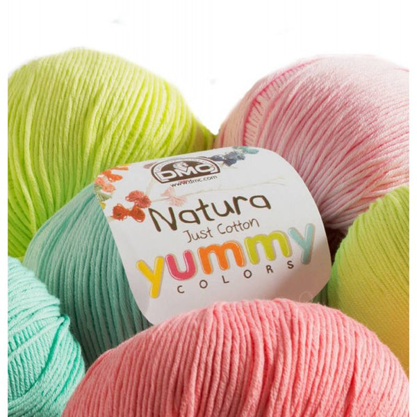 DMC Natura Just Cotton Yummy Colours