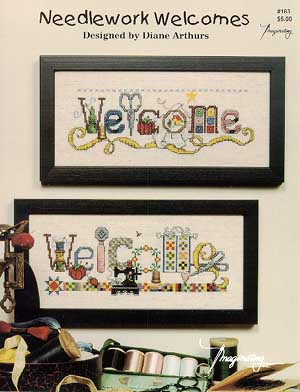 Needlework Welcomes Cross Stitch Chart