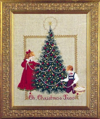 Oh Christmas Tree Cross Stitch Chart