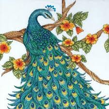 "Design Works ""Peacock"" Counted Cross Stitch Kit"