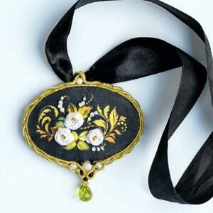 Riolis Ribbon Embroidery Pendant Kit