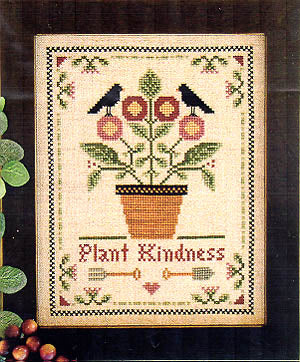 Plant Kindness Cross Stitch Chart
