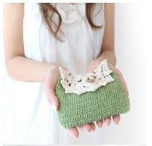 Guided Craft Project- Crochet a Lacy Pouch (Using Japanese Symbols)