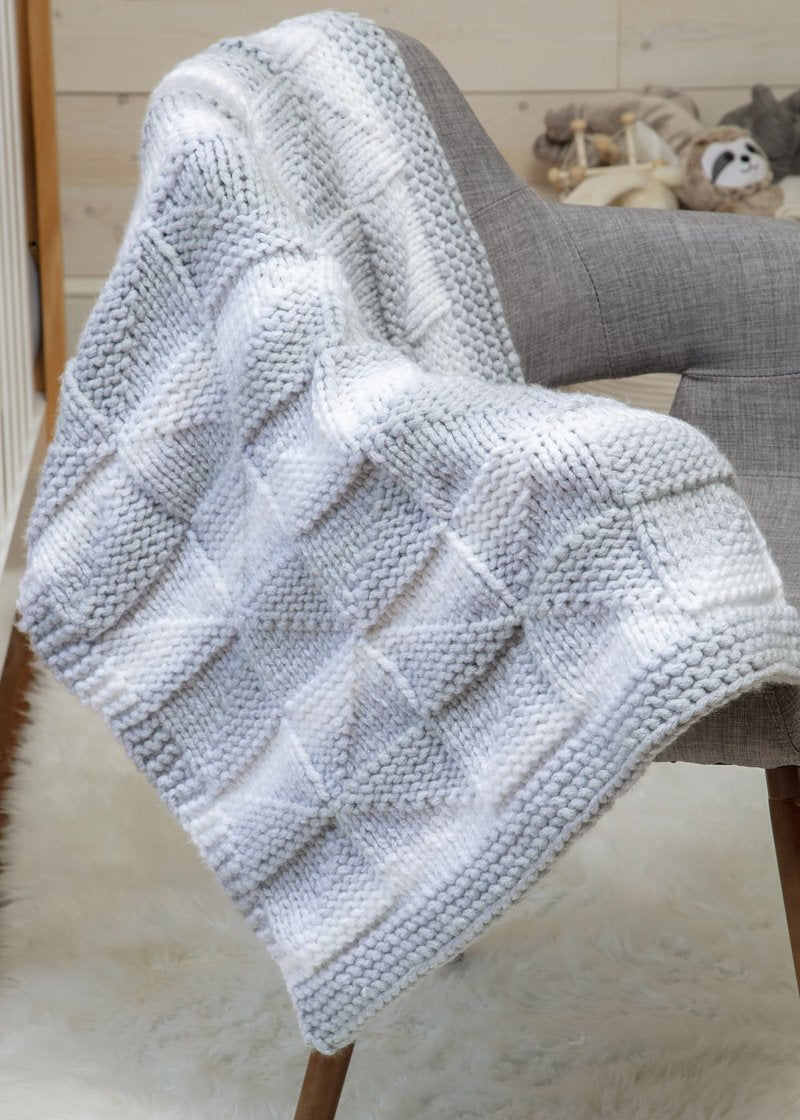 blanket made with Premier Couture Home yarn