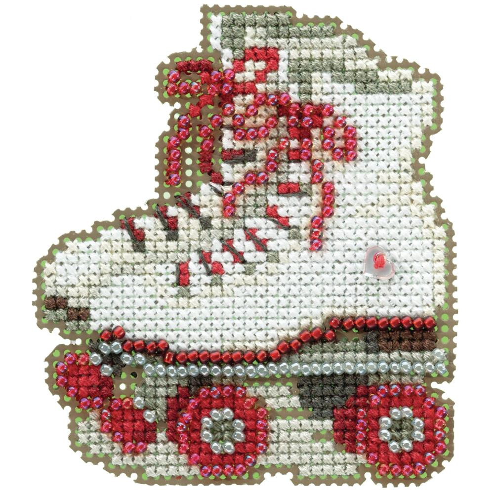 Mill Hill, Roller Skates Beads and Cross Stitch Kit