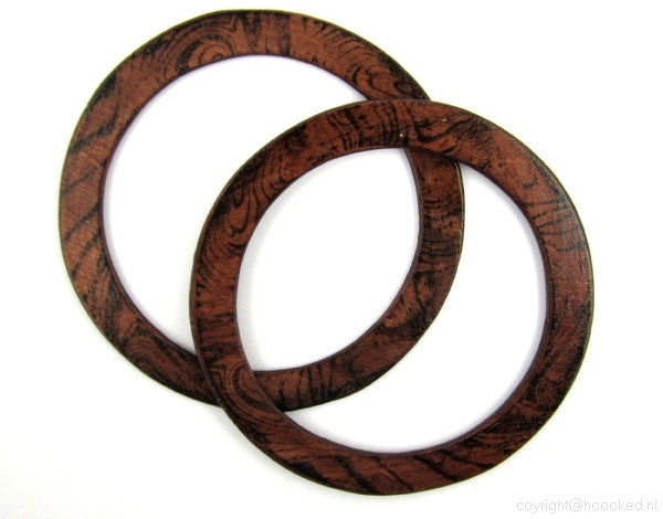 DMC Wooden Handbag Handle (Round)