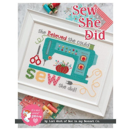 Sew She Did Cross Stitch Chart
