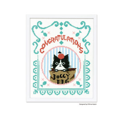 Olympus Chaton Chaton Muzu by Shinzi Katoh Cross Stitch Kit