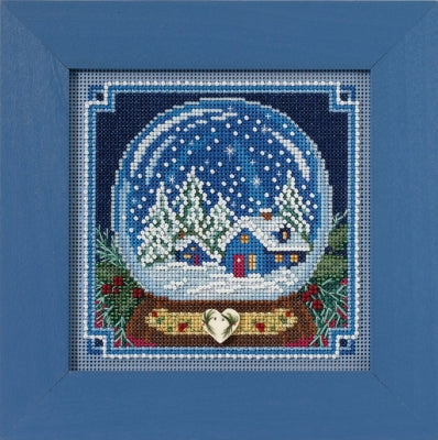 Mill Hill Snow Globe Beads and Cross Stitch Kit
