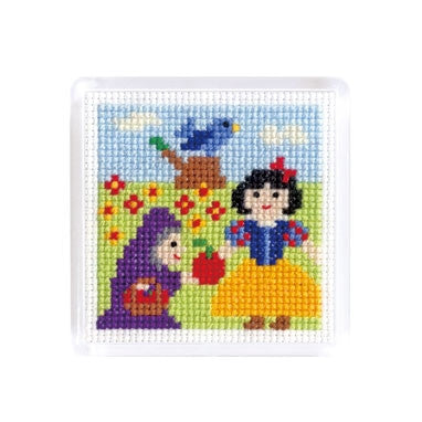 Olympus Fairytale Cross Stitch Magnet