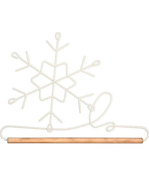 Snowflake Shaped 6-inch Holder