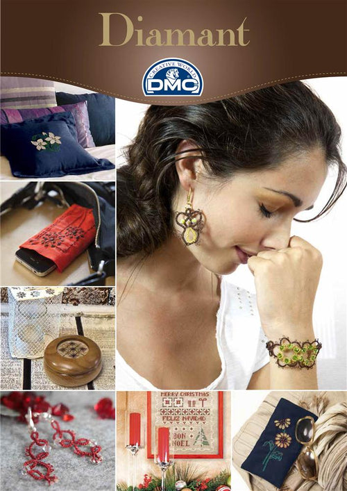 DMC Diamant Tatting, Cross Stitch and Embroidery Chart