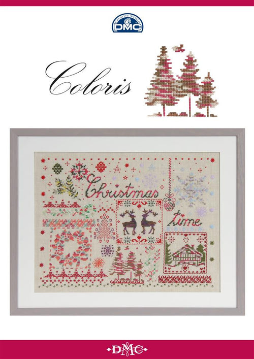 DMC Coloris Christmas Sampler Chart